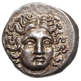Makedonien, Perseus, pseudo-rhodisch (179-168 BC) AR Drachme