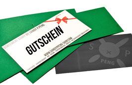 PENG SHOP  Gutschein via Postweg