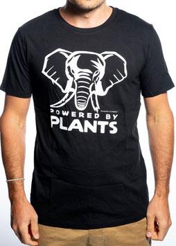 Elefant Plantpower! unisex. Zwei Farben.