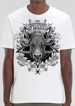 PENG-Metalshirt! unisex, weiß