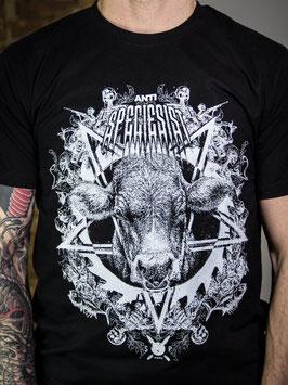 PENG-Metalshirt! vorne + hinten bedruckt, unisex, schwarz