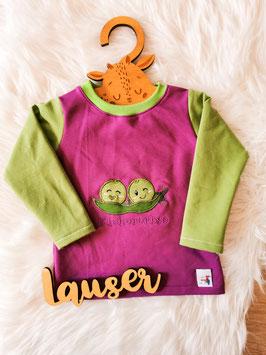 Pullover Kichererbs lila/grün - Größe 86