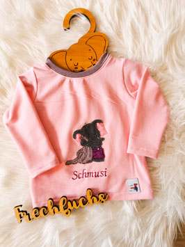 Pullover Schmusifant rosa - Größe 74