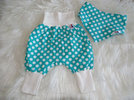 Pumphose Set Mint Dotties