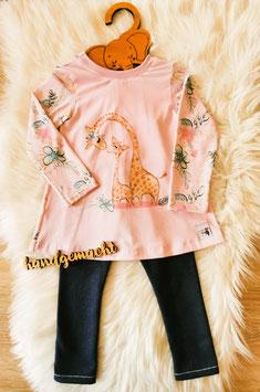 Tunkia Set Giraffen Größe 92