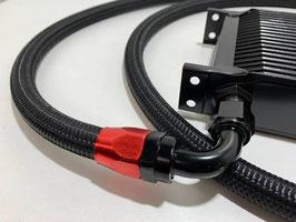 1m Stahlflexleitungen mit Nylonummantelung
