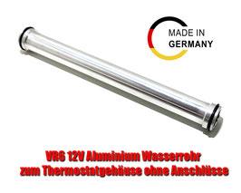 CNC gefrästes Aluminium Kühlwasserrohr VR6 12V Ohne Anschlüsse