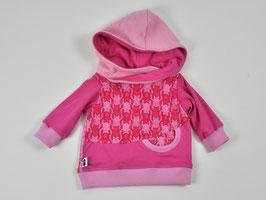 Hoodie Katzen rosa