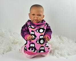 Rosa Hoodie  Pinguine