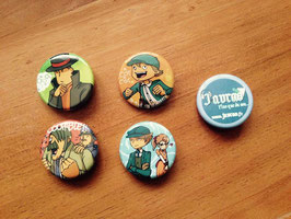 Pack : 5 badges