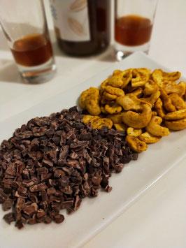 Apéro malin au Cacao et Noix de cajou