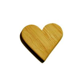 OWO - Magnet coeur bois en chêne massif - aimant 6.2kg