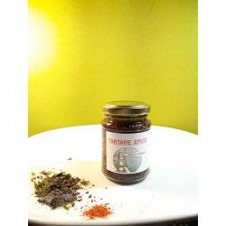 Tartare d'algues aux épices (Piment d'Espelette)