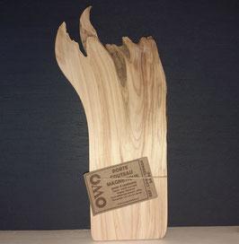 OWO - Porte 2 couteaux mural magnétique en bois de Cyprès- CP4C 120404