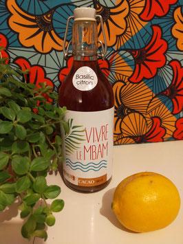 Rhum arrangé au Cacao et Basilic Citron