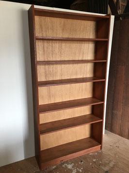 欅材の本棚
