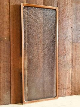 木枠付きレトロガラス「ダイヤガラス」