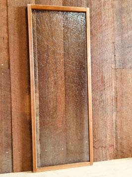 木枠付き型板ガラス「松葉」