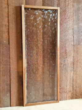 木枠付き型板ガラス「色紙(しきし)」