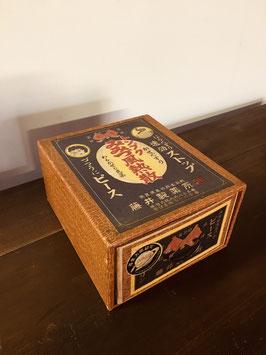 レトロな紙製の薬箱