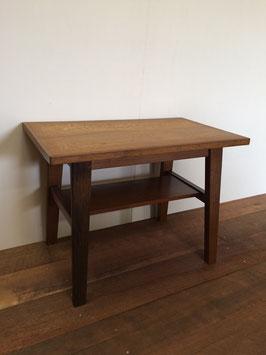 ナラのサイドテーブル