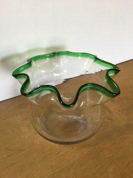レトロガラスの金魚鉢