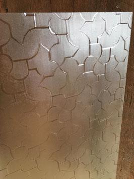 昭和の型板ガラス「からたち」