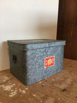 ブリキ缶(豊年・米箱)