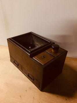 玉杢欅の小さめ長火鉢