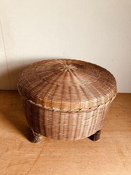 竹編みの飯籠(二升)
