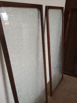 レトロガラス「結霜」のフレーム