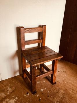 木製の学校イス−№①