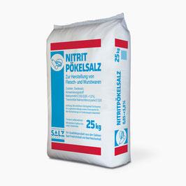 Siede-Nitrit-Pökelsalz 0,85% - 1,0% 25 kg