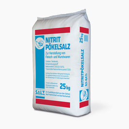 Siede-Nitrit-Pökelsalz 0,5%-0,6% 25 kg
