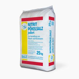 Siede-Nitrit-Pökelsalz jodiert 0,5% - 0,6% 25 kg