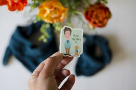 Sticker Michi&Friedrich