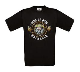 "Classics Shirt ""SONS OF ODIN, WALHALLA"""