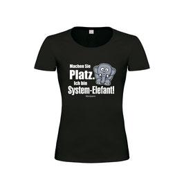 "Ladies Classics Shirt ""Sytemelefant"""
