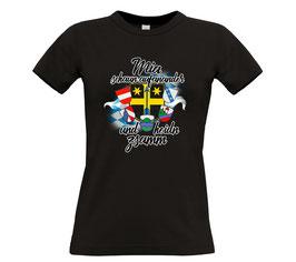 "Ladies Classics Shirt ""Mia hoidn zsamm"""