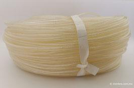 Cordón plástico con alma cristal