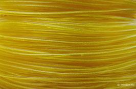 Cordón plástico con alma amarillo de 4.6 mm