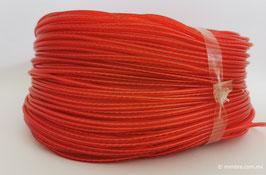 Cordón plástico con alma rojo