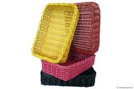 Cajón de mimbre de colores