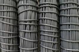 Cordón plástico de PVC gris oxford de 4.6 mm