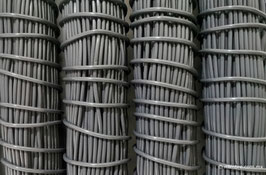 Cordón plástico de PVC gris oxford