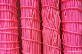 Cordón plástico de PVC rosa mexicano de 4.6 mm