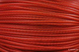 Cordón plástico con alma rojo de 4.6 mm