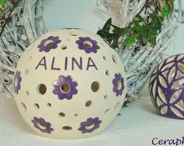 Namenslampe ALINA