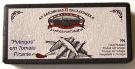 Kleine Sardinen pikant in Tomatensauce (Petingas) - La Gondola