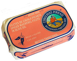 Makrelen Filet pikant in Olivenöl - Pinhais